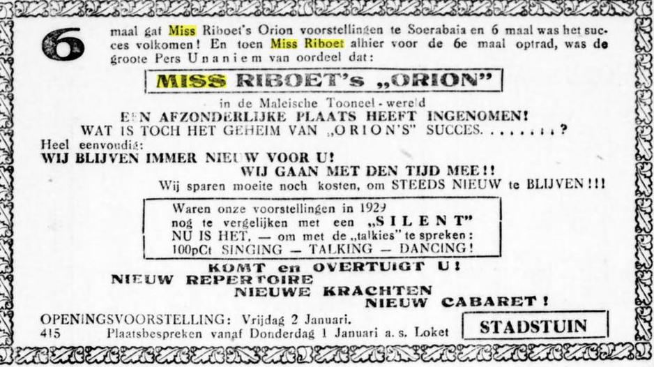 Miss Riboet